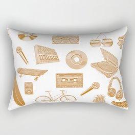 Amusement Industries - Golden Rectangular Pillow