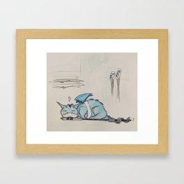 The Rower Framed Art Print