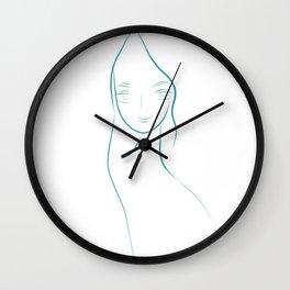 Mermaid's Gaze Wall Clock
