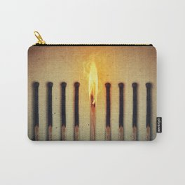 match burning alone Carry-All Pouch