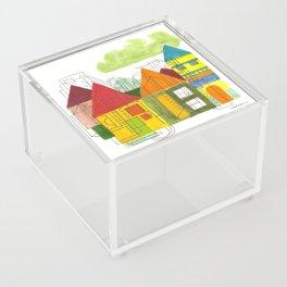 Little Block Town Acrylic Box