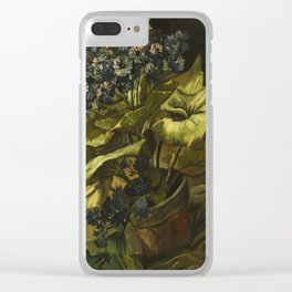 Cineraria by Vincent van Gogh Clear iPhone Case