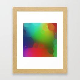 misc fantasy color drops B Framed Art Print