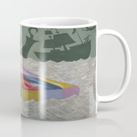 neverland Mugs featuring neverland by Justin Kendall