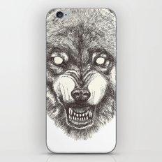 Day wolf iPhone & iPod Skin