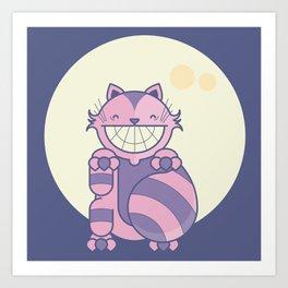 Cheshire Cat - Alice in Wonderland Art Print