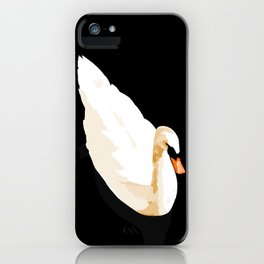 Swan on Leith iPhone Case