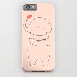 Love Yourself Ele 2 iPhone Case