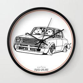 Crazy Car Art 0219 Wall Clock
