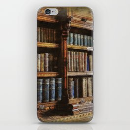 Knowledge - Antique Books on History & Law iPhone Skin
