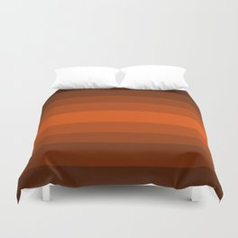 Sienna Spiced Orange - Color Therapy Duvet Cover