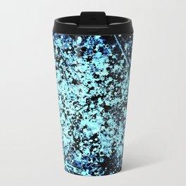 Blue Spat Metal Travel Mug
