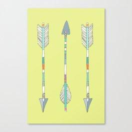 Arrows Trio Canvas Print