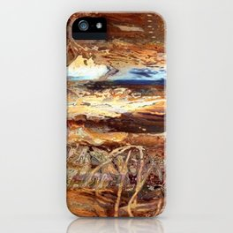 High Desert Abstract iPhone Case