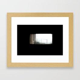 Haunted View Framed Art Print