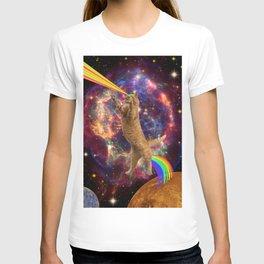 CAT SPACE  T-shirt