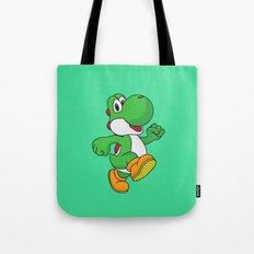 Yoshi Pop Art - Green Tote Bag