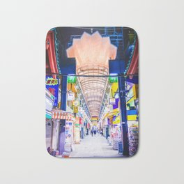 Neon Nakamise Bath Mat