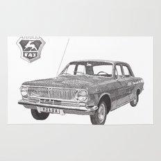 Volga GAZ-24 Rug