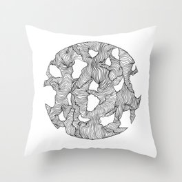 Reticulated Throw Pillow