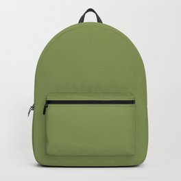 Turtle green - solid color Backpack