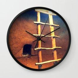 Down in the Kiva Wall Clock