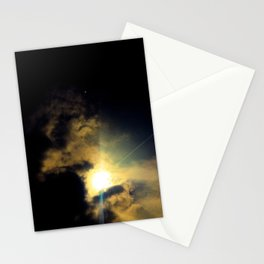 Cloud Dragon holding the sun Stationery Cards