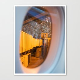 Gate 21 Canvas Print