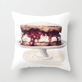 Cake Time! Throw Pillow