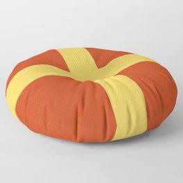Romeo Modern nautical maritime Floor Pillow