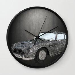 James Bond Aston Martin DB5 Wall Clock
