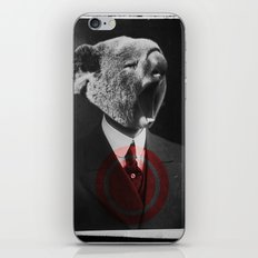 Koala Yawn iPhone & iPod Skin