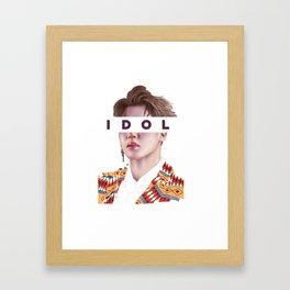 Idol vs03 Framed Art Print
