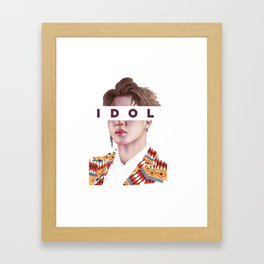 Idol vs03 Framed Art Print