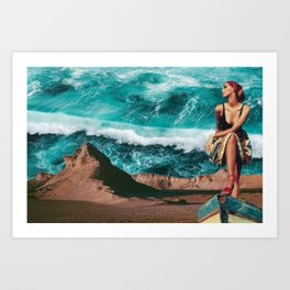 Forbidden Seas Art Print
