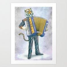 Norteño Art Print