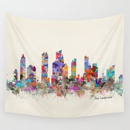 Fort Lauderdale Florida  Wall Tapestry