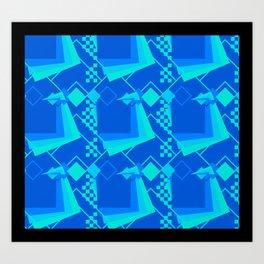 Square Up Art Print