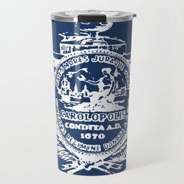 flag of Charleston Travel Mug