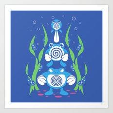 Kanto Swamp Art Print