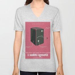 I soliti Ignoti (big deal on Madonna street, movie poster, Monicelli, Totò, Marcello Mastroianni Unisex V-Neck
