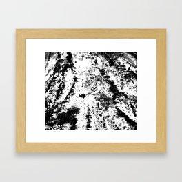Noir Blanc Framed Art Print