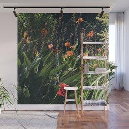 Wild Hawaiian Tropical Garden Wall Mural