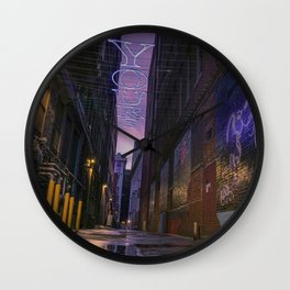 Yours Truly - LG Wall Clock