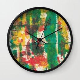 Smudge Wall Clock