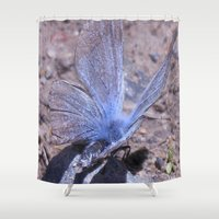 sparkles Shower Curtains featuring Mystic Sparkles by Set A. K. Elrich