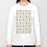 snoopy Long Sleeve T-shirts featuring Snoopy by Neo Store
