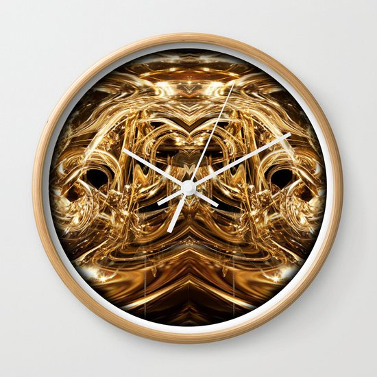 oro tre Wall Clock