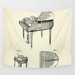 Piano-1937 Wall Tapestry