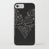 bonjour iPhone & iPod Cases featuring Bonjour by oh, sensation!